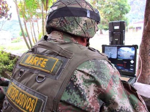 Desactivado campo minado en parque infantil de Inzá1
