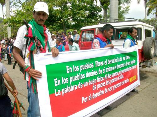 Despiden al líder indígena Fabio Dagua en Caloto1