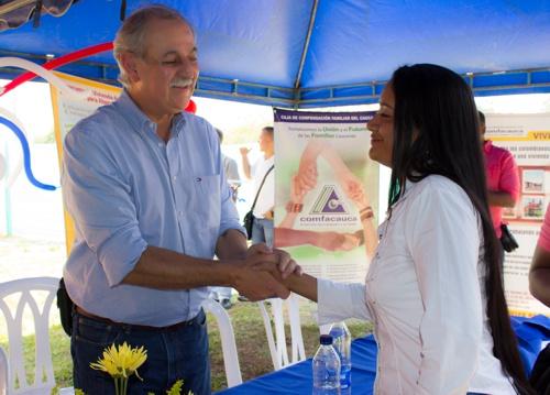 Familias de Santander de Quilichao estrenan casa propia