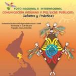 Foro de comunicación indígena y políticas públicas se realizará en Popayán