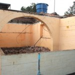 Se desplomó el techo del Hogar Infantil Santander