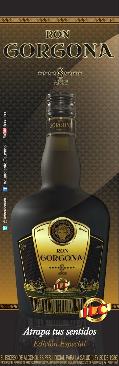 Ron Gorgona - Industria Licorera del Cauca