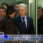 """""""Uribe no es veraz y le hace daño a la prensa colombiana"""": vocero Fundación para Libertad Prensa"""