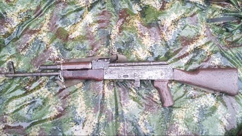 AK 47 - arsenal incautado - Cauca - Ejército Nacional