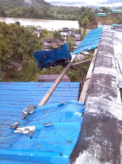 Atacan estación de Policía de López de Micay1