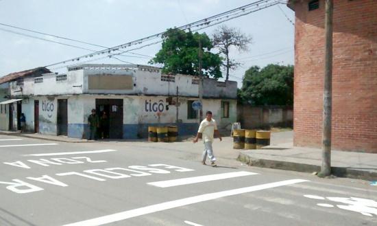 Corinto - Estación de Policía - Puesto de vigilancia del Ejército1