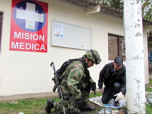 Desactivan explosivos instalados por las Farc en Inzá - Cauca