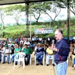 Comunidades del norte del Cauca se reunieron el domingo con el gobernador, en Santander de Quilichao.