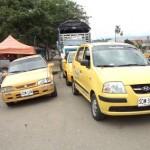 Gremio de taxistas sin parqueaderos en Santander de Quilichao