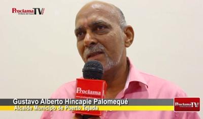 Gustavo HIncapié - Alcalde de Puerto Tejada - Cauca