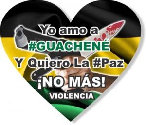 No más violencia en Guachené