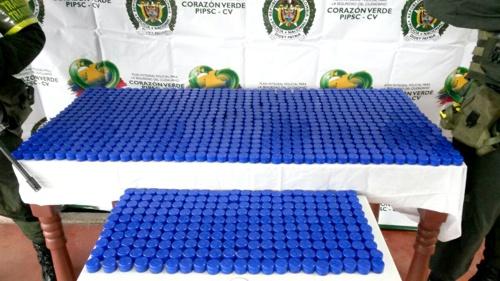 Policía incautó tapas para licor adulterado en Cauca1