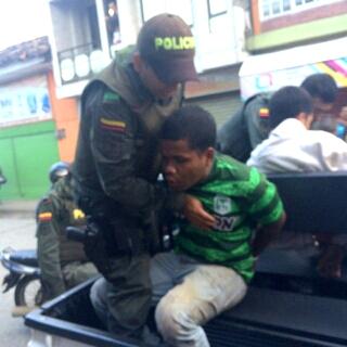 Policías Frustran robo en Santander de Quilichao