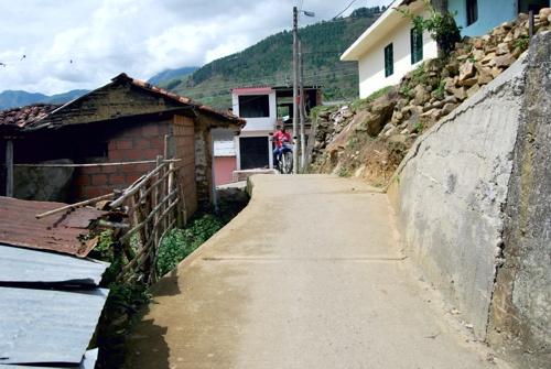 Calles de Suárez, Cauca