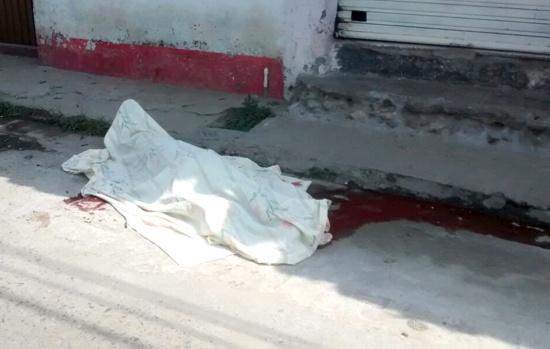 Un soldado muerto en Corinto