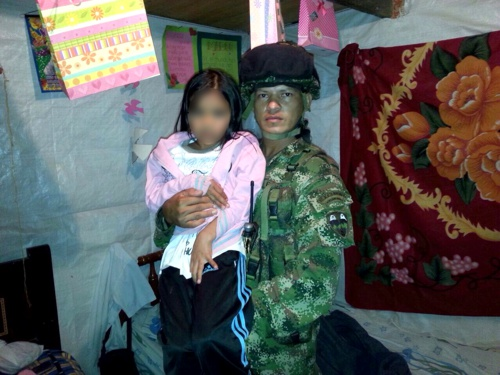 En libertad la niña que había sido secuestrada en Almaguer - Luisa Fernanda Sotelo Jiménez