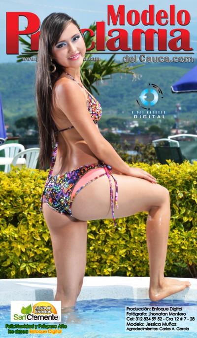 Jessica Muñoz - Modelo Proclama del Cauca - Diciembre 2014-1