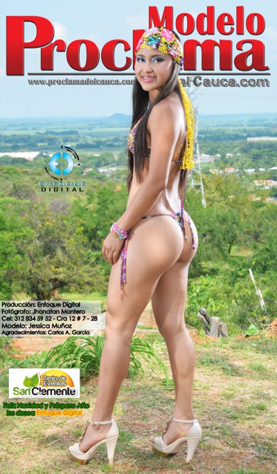 Jessica Muñoz - Modelo Proclama del Cauca - Diciembre 2014-7
