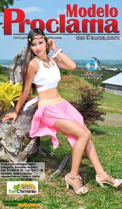 Jessica Muñoz - Modelo Proclama del Cauca - Diciembre 2014-9