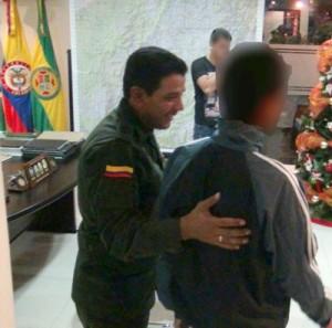 Liberan a niño que había sido secuestrado en Caldono1