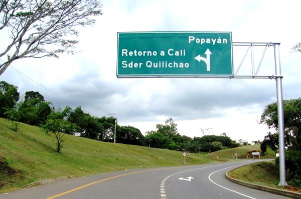 Vía-Panamericana-Santander-de-Quilichao-Popayán