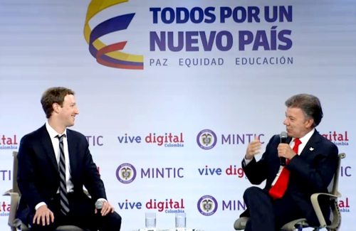 Alianza entre Colombia y Facebook, por los más pobres del país
