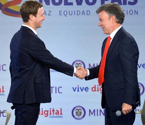 Alianza entre Colombia y Facebook, por los más pobres del país1