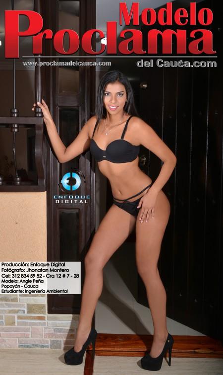 Angie Peña - Modelo Proclama del Cauca - Enero 2015 (10)