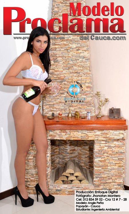 Angie Peña - Modelo Proclama del Cauca - Enero 2015 (11)