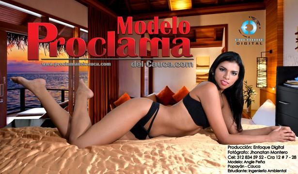 Angie Peña - Modelo Proclama del Cauca - Enero 2015 (15)