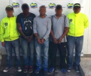 Capturan banda que delinquía en el sur del Cauca
