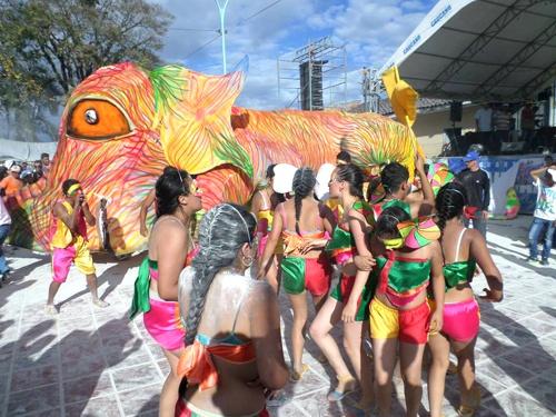 Carnavales de Negros y Blancos - Balboa - Cauca - comparsas