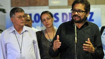 NEGOCIADORES DE LA FARC EN LA HABANA