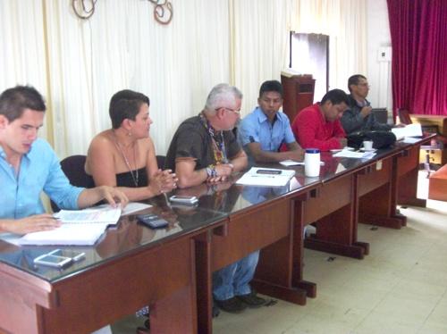 Presentación ante el concejo de la nueva jefe de la Oficina Jurídica de Caloto1
