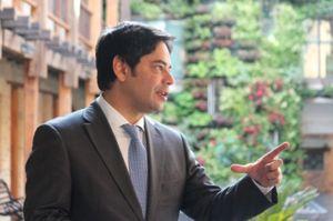 Viceministro de Vivienda, Guillermo Herrera Castaño. Foto de René Valenzuela.
