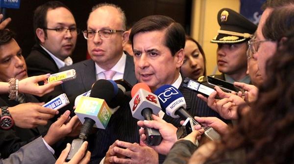 Juan Fernando Cristo - Ministro del Interior
