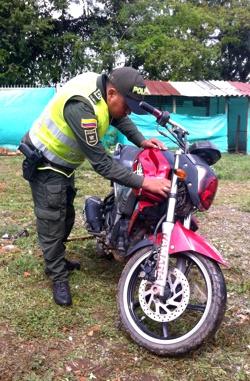 RECUPERACION MOTOCICLETA EN SANTANDER DE QUILICHAO