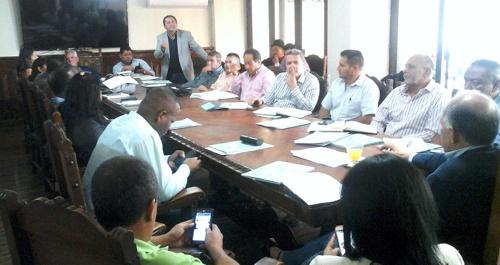 Reunion con alcaldes del Cauca sobre Paz y Postconflicto