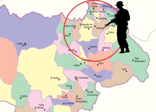 Temor en el norte del Cauca por panfletos amenazantes