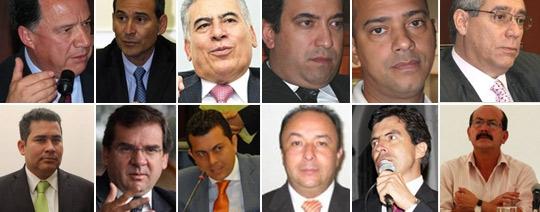 los 12 congresistas de la reforma a la justicia