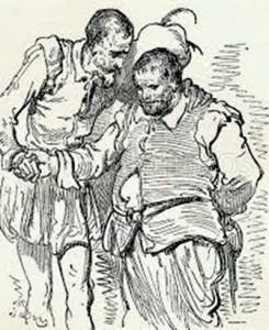 Don Quijote - Sancho