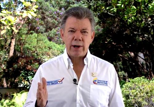 Juan Manuel Santos - presidente de Colombia
