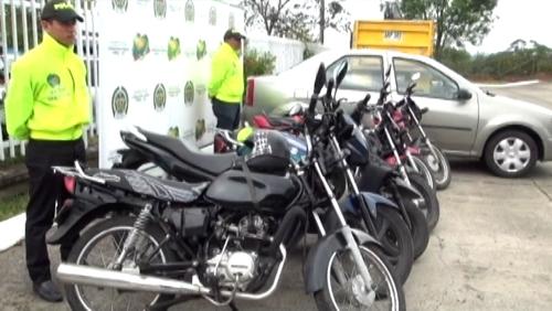 Policía recuperó 11 vehículos hurtados en Popayán