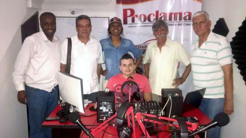 Proclama del Cauca Radio - Gilberto Muñoz Coronado