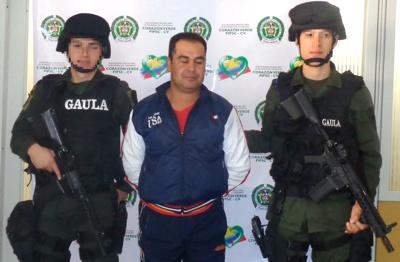 Capturado alias 'cachetes' en Popayán
