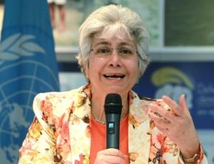 Flavia Pansieri, alta comisionada adjunta de la ONU para los Derechos Humanos