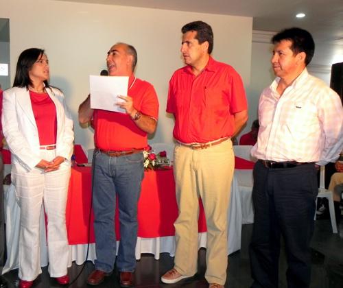 Lucy Amparo Guzmán González - Carlos Bonilla - Luis F. Velasco - Crisanto Piso