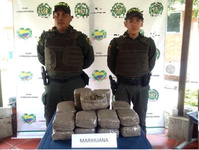 Hallan marihuana en una calle de Quilichao