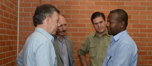 Presidente Santos encabezó reunión para revisar situación de orden público en el Cauca