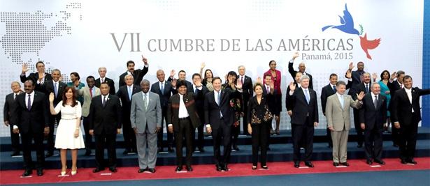 Presidentes de América - VII Cumbre de las Américas - Panamá 2015